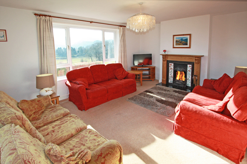 The sitting room at Derwent Lea