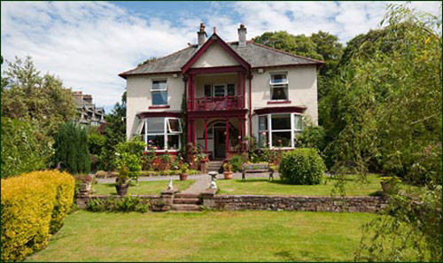 Hazelwood self catering group accommodation in the Lake District