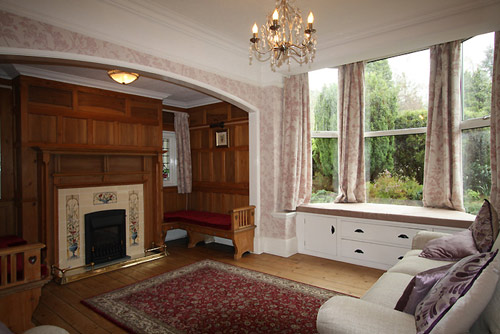 The second sitting room at Hazelwood self-catering cottage in Keswick